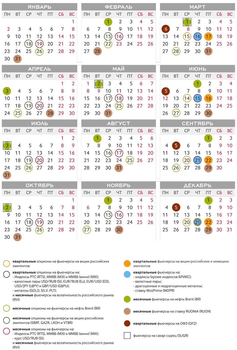 Торговый календарь 2017